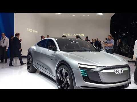 Audi Elaine concept walkaround at Frankfurt Motor Show 2017