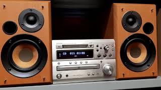 Denon MA3.            Dàn mini dành cho khách nghe nhạc phòng ngủ, bàn máy tính làm việc hoặc thay t