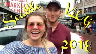 SEATTLE 2018 VLOG | Sister Getting First Tattoo/Seattle With Enchroma Lenses!