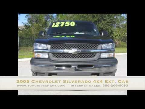 Used 2005 Chevrolet Silverado 4x4 Tom Gibbs Chevy Palm Coast 32164