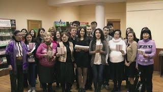 Флешмоб Чтение стихов Салавата Юлаева в Челябинске
