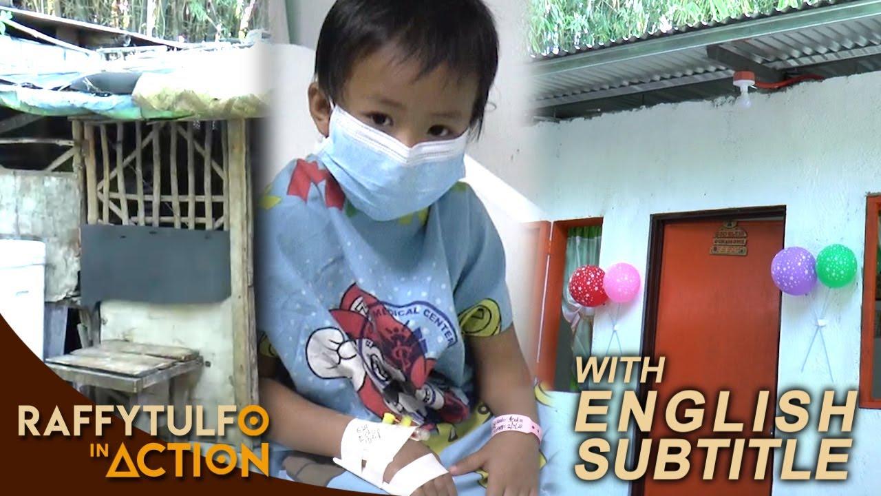 Download BATANG MAY LEUKEMIA NA NAKATIRA SA BARUNG-BARONG, PINAGAWAN NI IDOL NG BAGONG BAHAY!