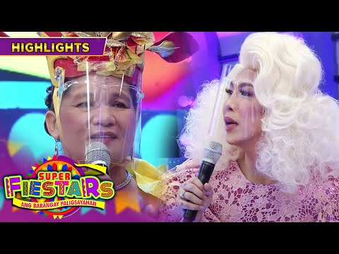 Nanay Rebecca feels sad because she can't hug Vice Ganda | It's Showtime Super FieSTARs