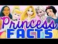 10 Disney Princess Facts | Rapunzel, Cinderella, Snow White & More!
