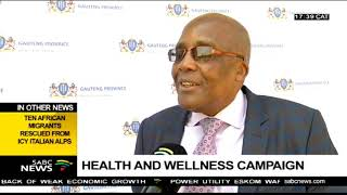 Dr. Motsoaledi on the Health and Wellness campaign