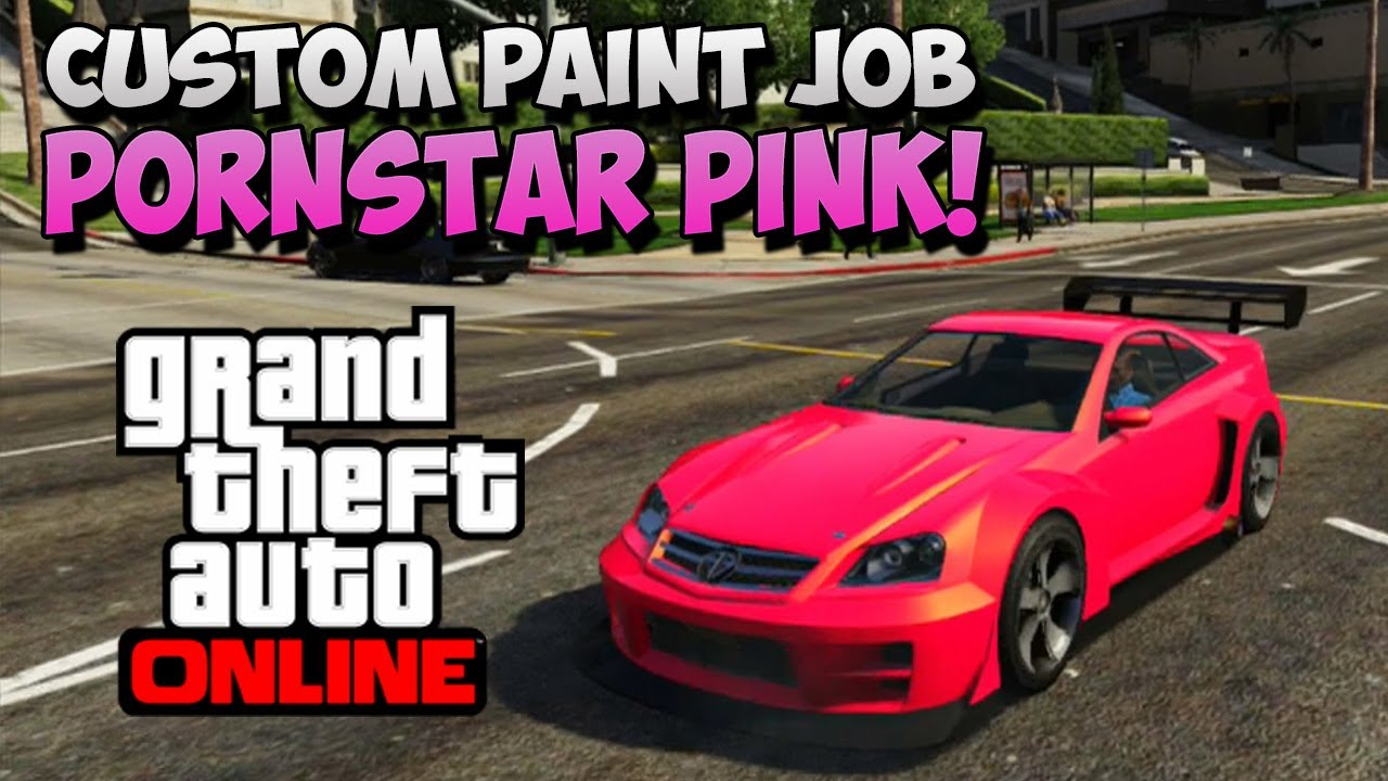 Custom Gta V Car Paint Job