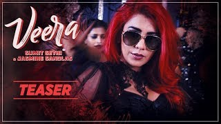 """Presenting song teaser of veera by gulabi queen """"jasmine sandlas"""" & sumit sethi. keep your dancing shoes ready to groove on the beats composed sethi..."""