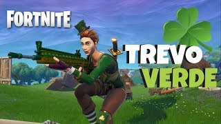 HIGHLIGHTS WITH THE SKIN OF LUCK SARGENTA CLOVER GREEN | Fortnite PS4 Gameplay