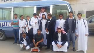 طلاب ثانوية الرواد الأهلية ببريدة يشاركون في برنامج جلوب البيئي بمركز التميز الطلابي