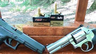 10mm VS .357 Magnum Terrible Ammo! PMC