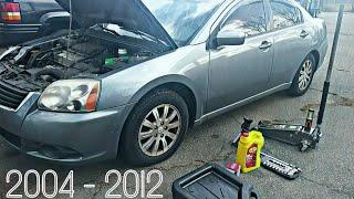 Mitsubishi Galant 2009 Videos