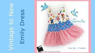 Emily Ruffle Dress - Tutorial to Emily Ruffle Dress Pattern