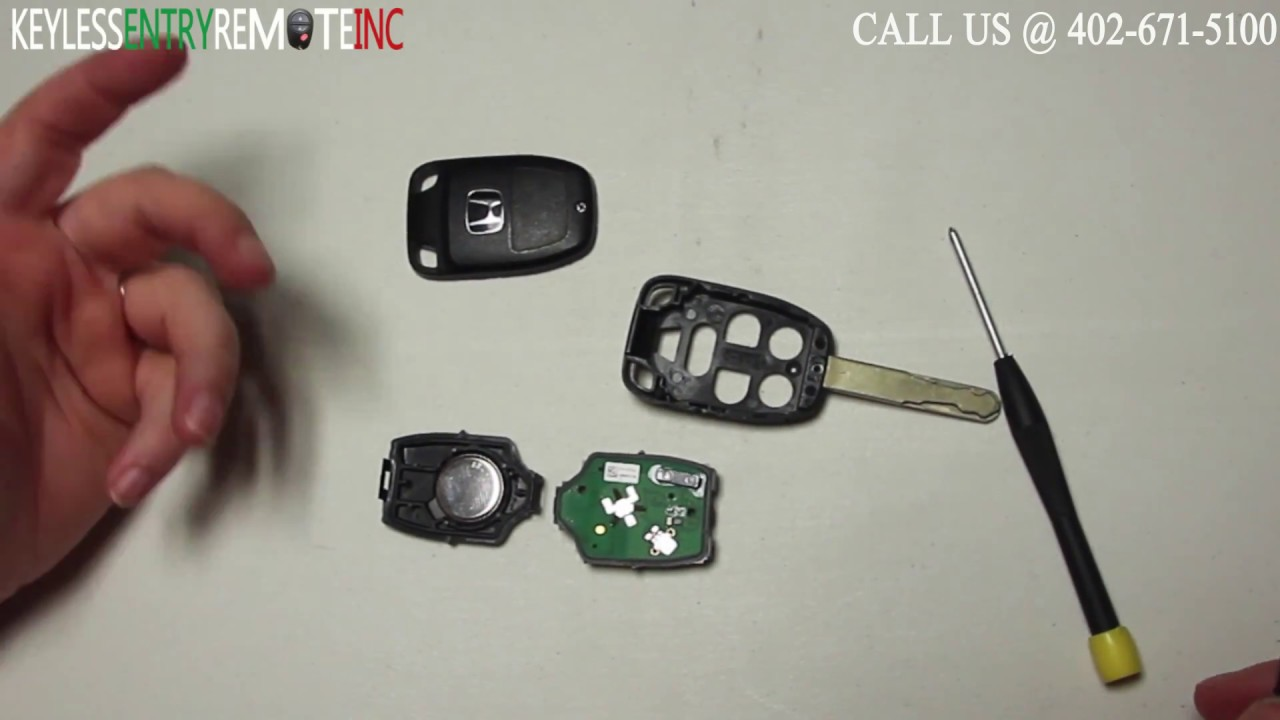 How To Replace Honda Odyssey Key Fob Battery 2011 2012