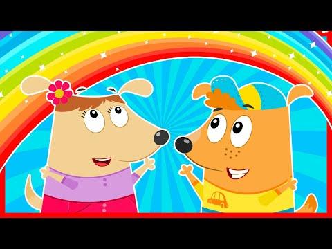 Семейка собачек - мультики для детей. Развивающие мультики для маленьких детей от года. Новые серии