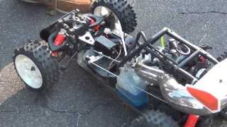 Kev and his fire hammer plus a glimpse of a Fg 4wd electric buggy