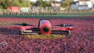 BeBop Drone In-Depth Review - with 1080p aerial footage(The brand new Parrot BeBop Drone. 1080p HD video recording, with 14MP still images. Aerial footage captured by me, and music is all original created by me., 2015-05-26T21:05:33.000Z)