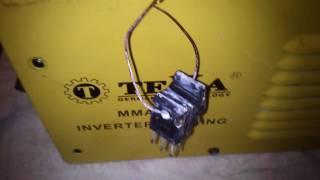 Китайські транзистори для ремонту китайського зварювального інвертора. Repair welding inverter Chinese