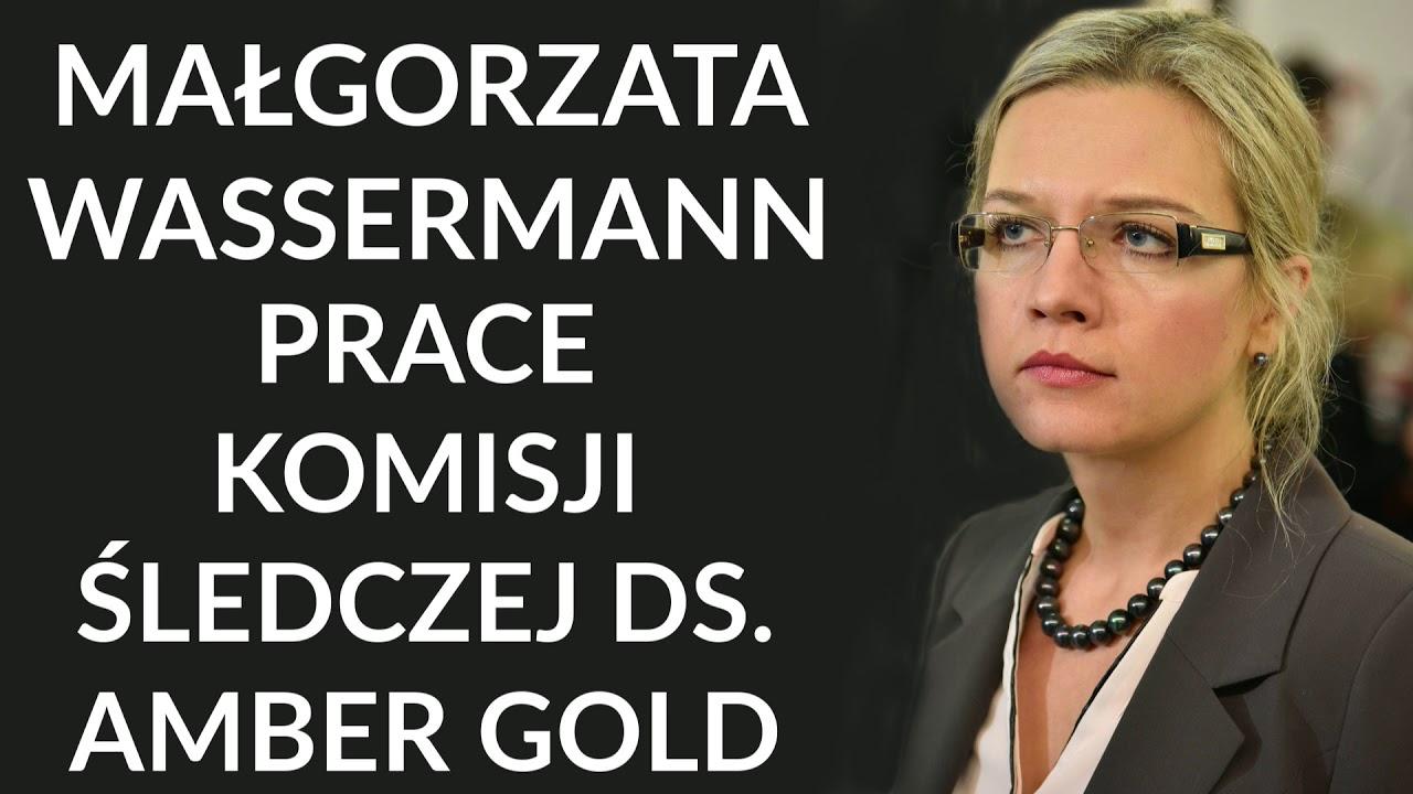 Wassermann: Marcin  P. wraz z żoną nie mogli samodzielnie stworzyć afery Amber Gold