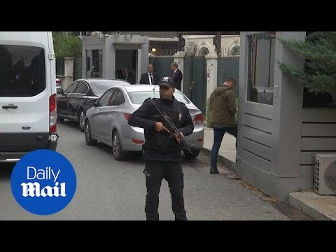 Police arrive at Saudi consul's residence to search premises