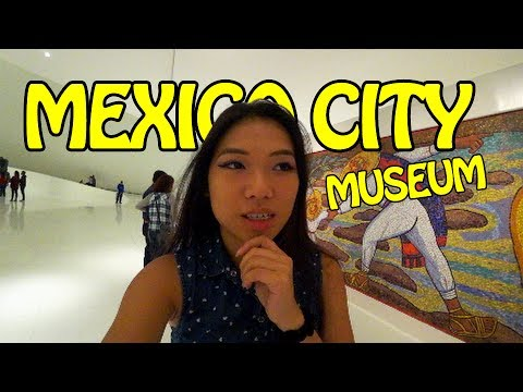 Expat in Mexico City Museum- Life in Mexico Episode #1.2 / Mexico Travel Vlog #9