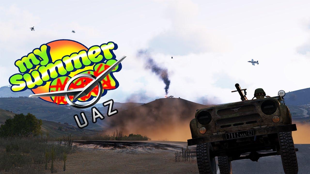 The ARMA 3 Stalinium UAZ SPG 9 Experience