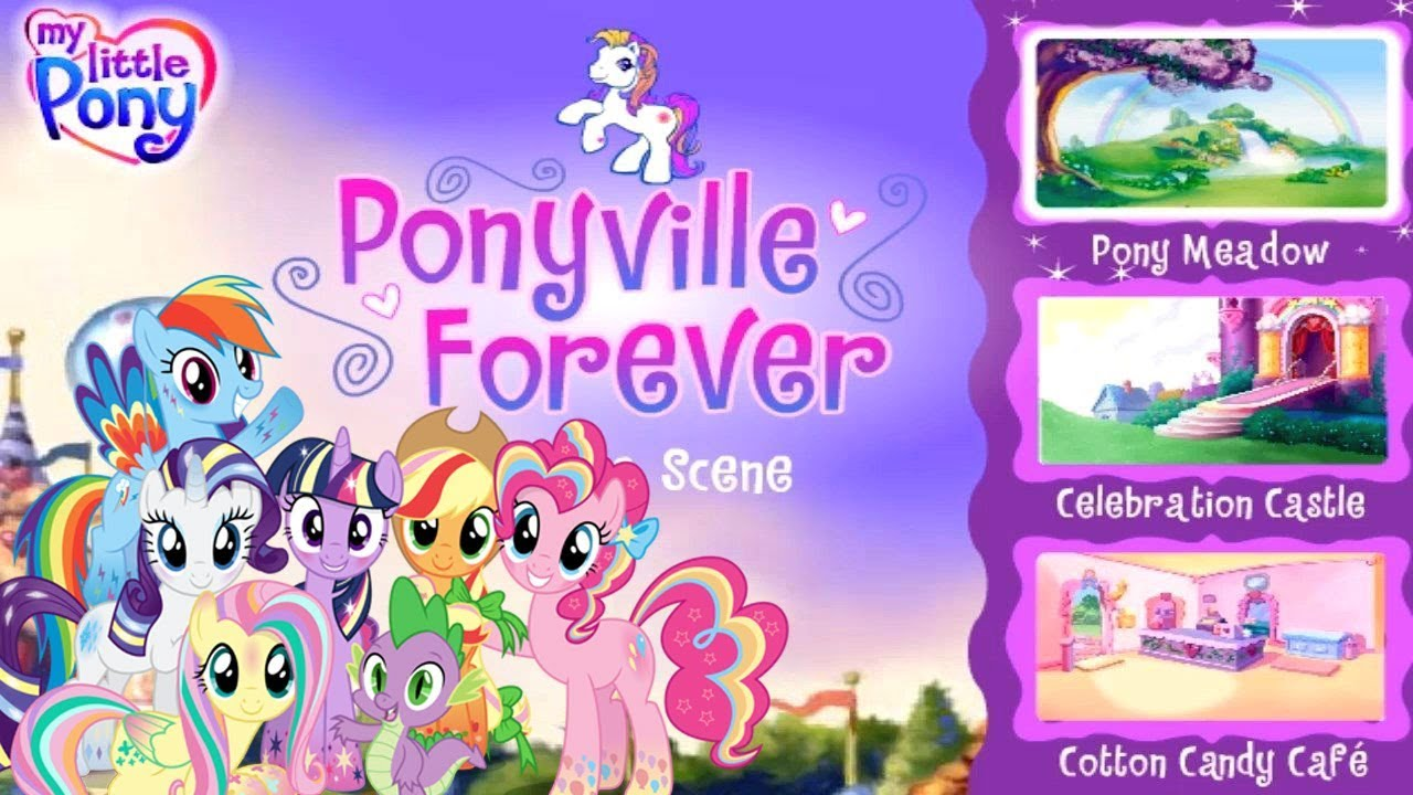 My Little Pony Games Adventures In Ponyville Forever