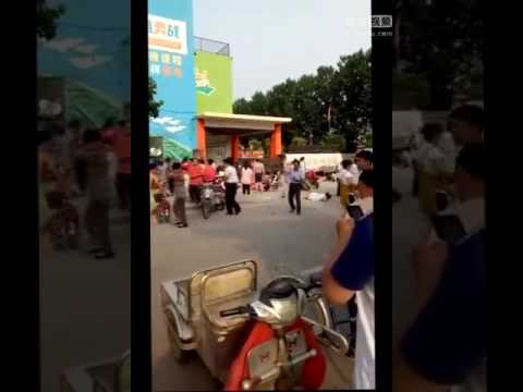 7 killed in explosion at east China kindergarten (江蘇徐州幼兒園爆炸7死)