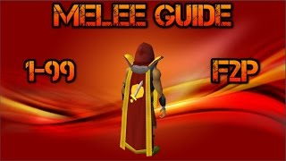 RS3, F2P, 1-99 Strength,Attack,Defense, Constitution Guide (Detailed) (RuneScape)