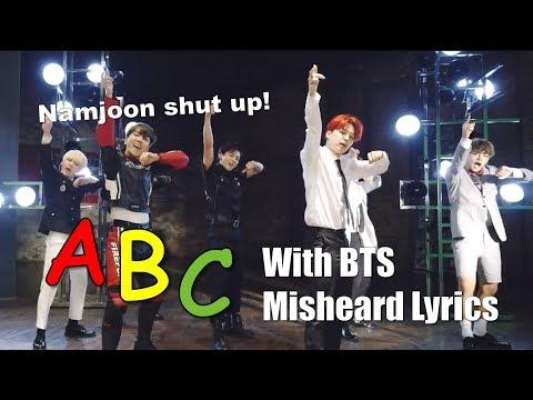 Learn the Alphabet with BTS Misheard Lyrics