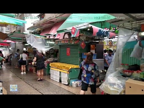 📱Hong Kong Life Live - Walking From Causeway Bay To Wanchai (2018-8-17)