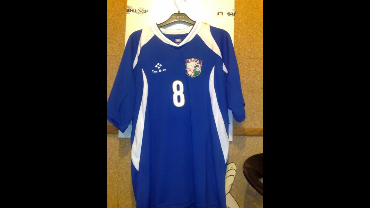 taiwan football jersey