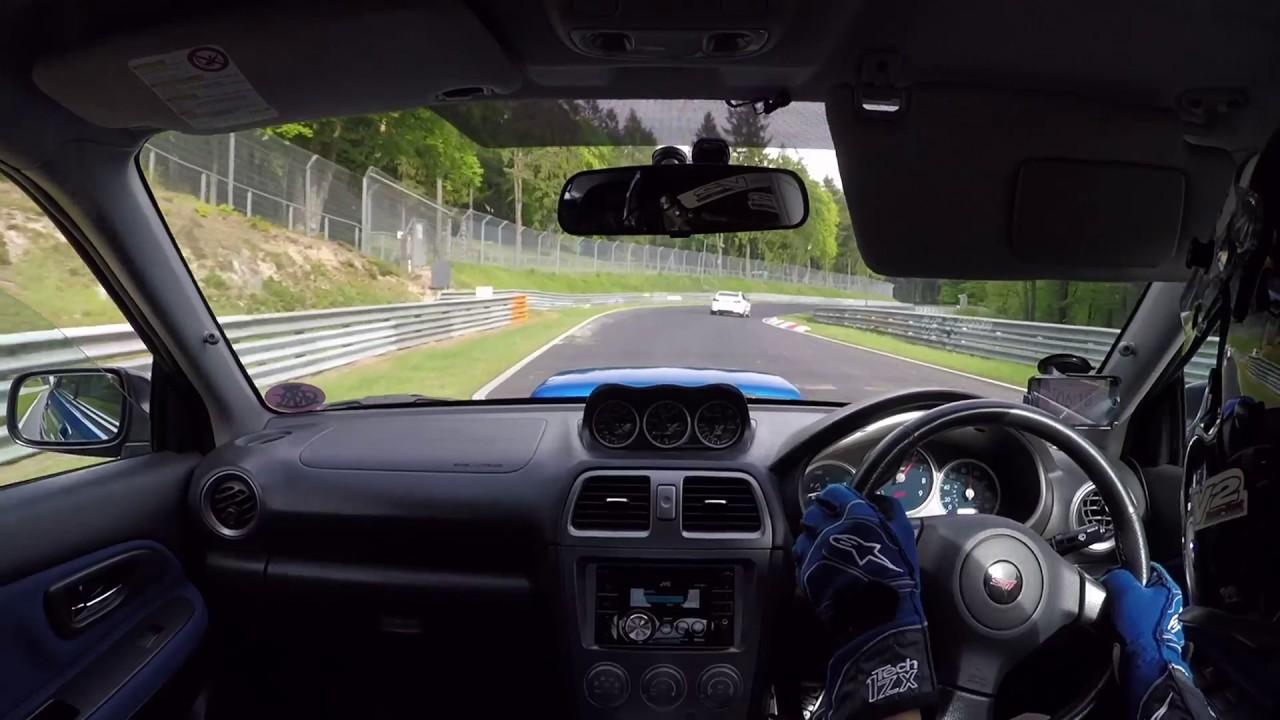 Subaru Impreza WRX STI vs M3 Ring Taxi  Nrburgring BTG