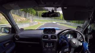 Subaru Impreza WRX STI vs M3 Ring Taxi - Nürburgring BTG - touristenfahrten - 18.05.2017