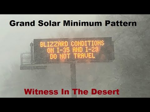 GSM Update 11/26/18 - Blizzard Warnings 90+ Counties - 400+ Frozen Turtles-  Witness In The Desert