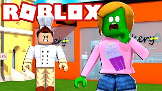 Roblox | Zombie Molly Escapes The Bakery Obby!