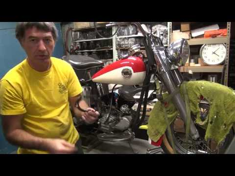1958 panhead 74ci #142 fl bike rebuild topend repair harley by tatro machine