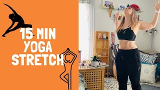 15 Minute Yoga Stretch