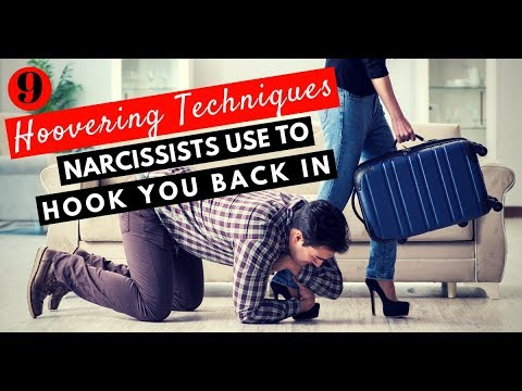 9 Hoovering Techniques Narcissists Use To Hook You Back In