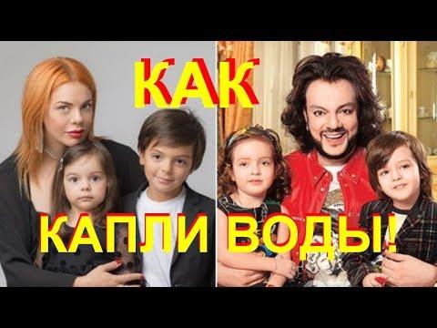 Дочь Стоцкой тоже копия Киркорова!!!
