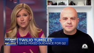 Twilio CEO Jeff Lawson discusses Q1 earnings