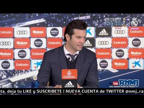 Real Madrid 1-2 Girona Rueda de prensa post de SOLARI Jornada 24 (17/02/2019)