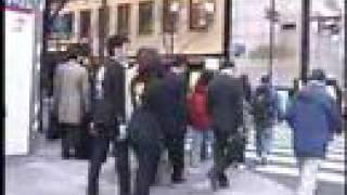 12月〜3月、都内を毎日歩いていたペアルック隊。