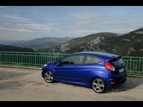 Ford Fiesta ST (2013) In French Mountains