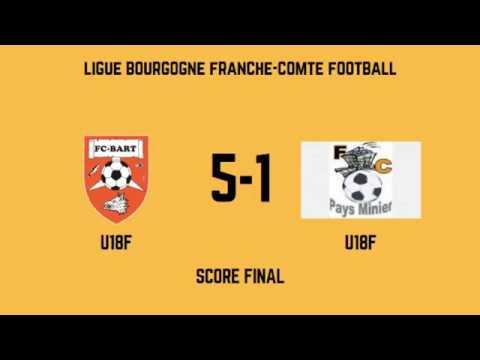 F.C.Bart U18F - F.C.Pays Minier U18F (5-1) - Résumé
