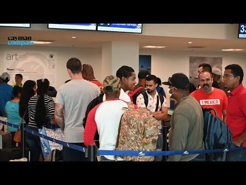 More than 12,500 left Cayman as border slammed shut