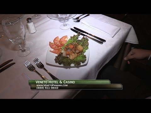 Great fish recipe at the Veneto Hotel & Casino in Panama City, Panama