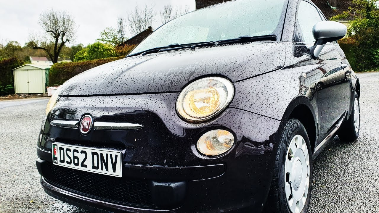 The Sale Preparation On My Salvage Fiat 500 Project Car (The Final Episode)