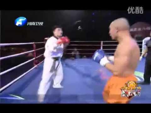 Taekwondo beat Shaolin Kung Fu
