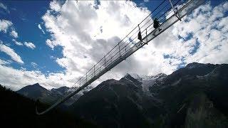 World's Longest Pedestrian Suspension Bridge Just Opened In Switzerland