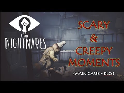 Little Nightmares Scary & Creepy Moments (Main Game + DLCs) [4K Ultra HD]